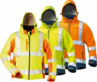 Warnschutz-Softshell Jacke, ISO 13688