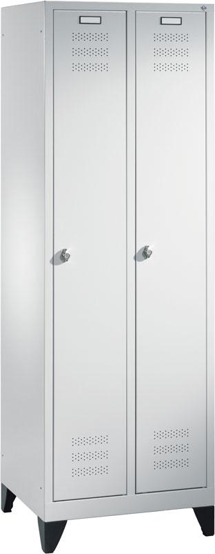 Universal Stahl Garderobenschrank Anzahl Abteile 2 St Abmasse