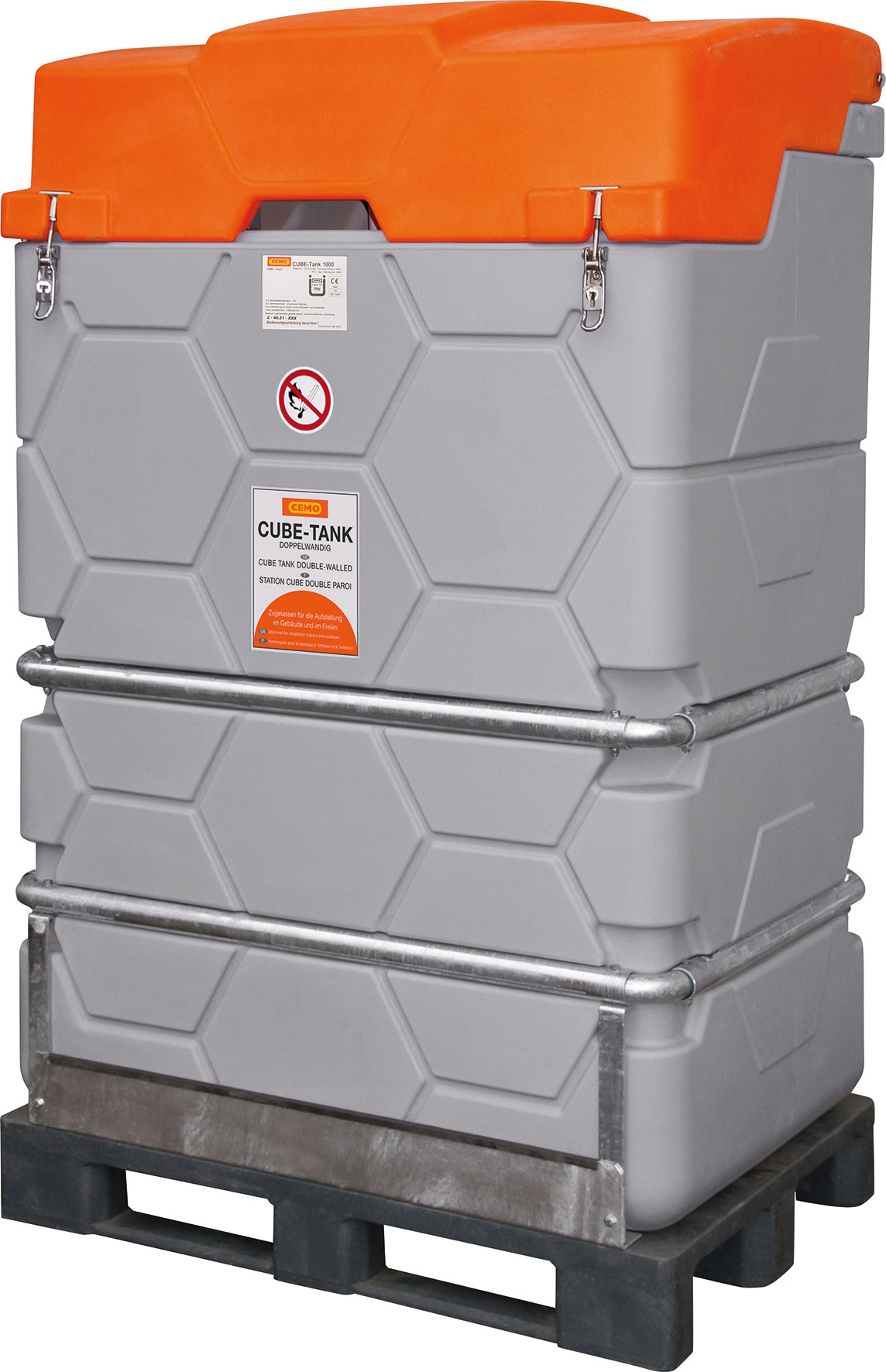 cube heiz ltank mobil inhalt 1000 l abma e lxbxh 120x80x195 cm wocken industriepartner. Black Bedroom Furniture Sets. Home Design Ideas