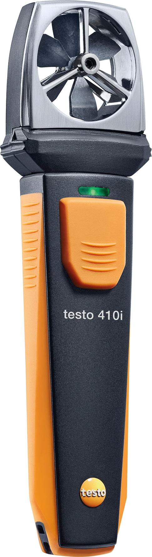 fl gelrad anemometer mit smartphone bedienung testo 410i. Black Bedroom Furniture Sets. Home Design Ideas