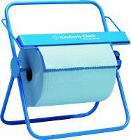 PROFESSIONAL* Wandhalter für Wischtuchrollen - Großrolle / Blau